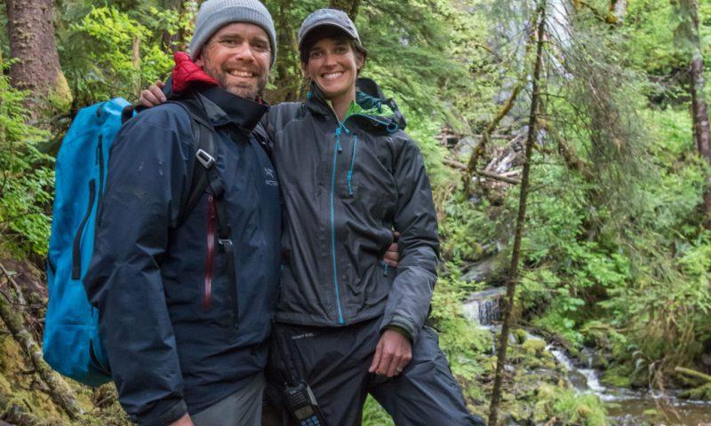haida gwaii waterfall hike