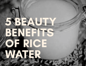 How to Make Rice Water for Face