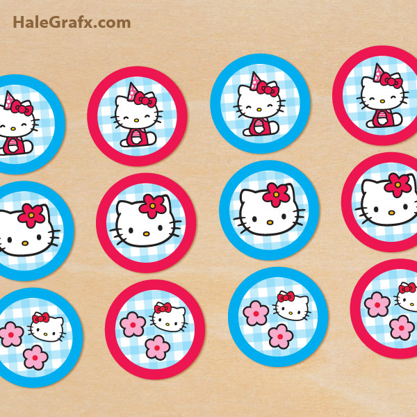 FREE Hello Kitty Party Printables – Little Wish Parties