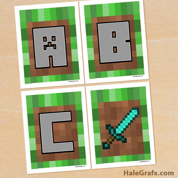 Tsum Tsum Printable Letters