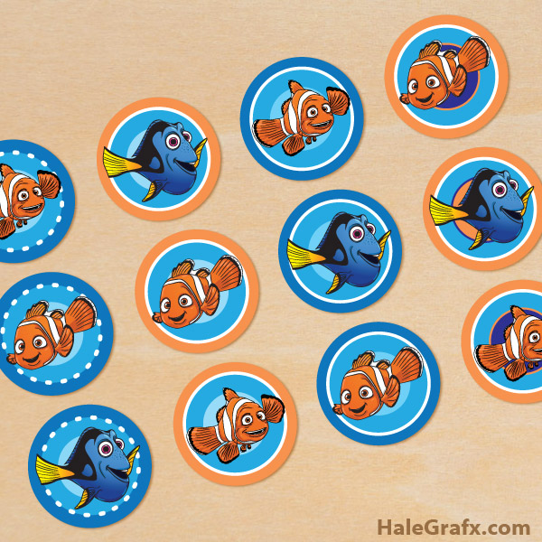 nemo cake template - finding nemo printables free download 20 high school