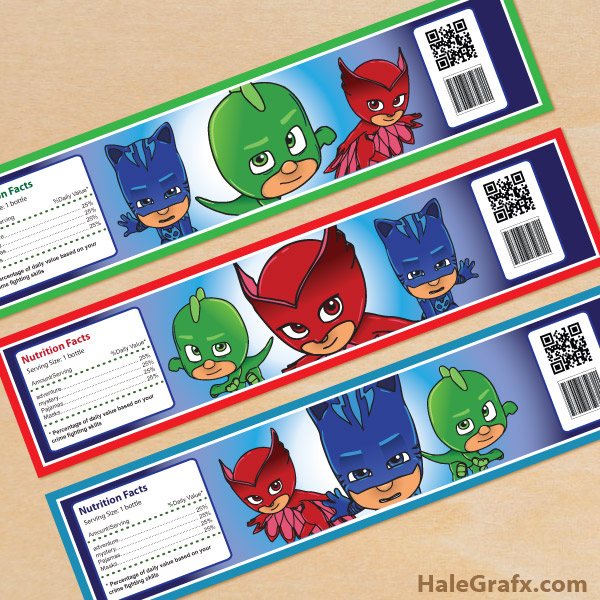 Pj Masks Party Printables For Free