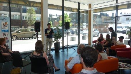 Guerrilla Poetry at Deptford Lounge