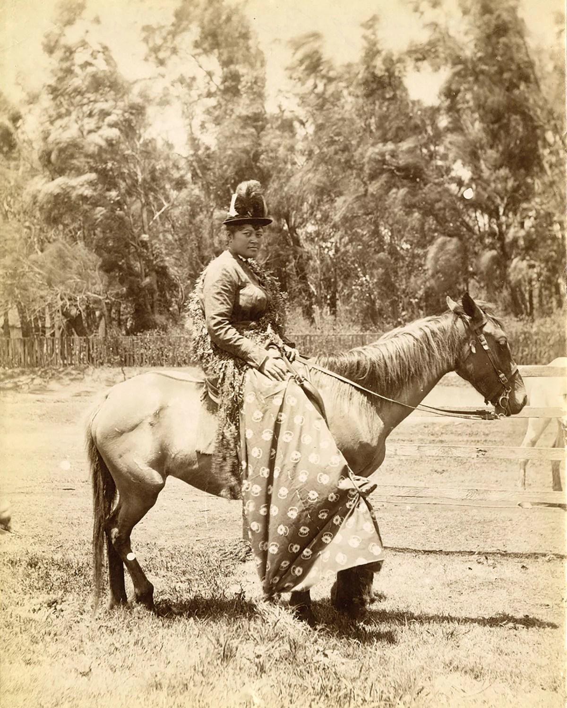 Pāʻū Rider, c. 1980.