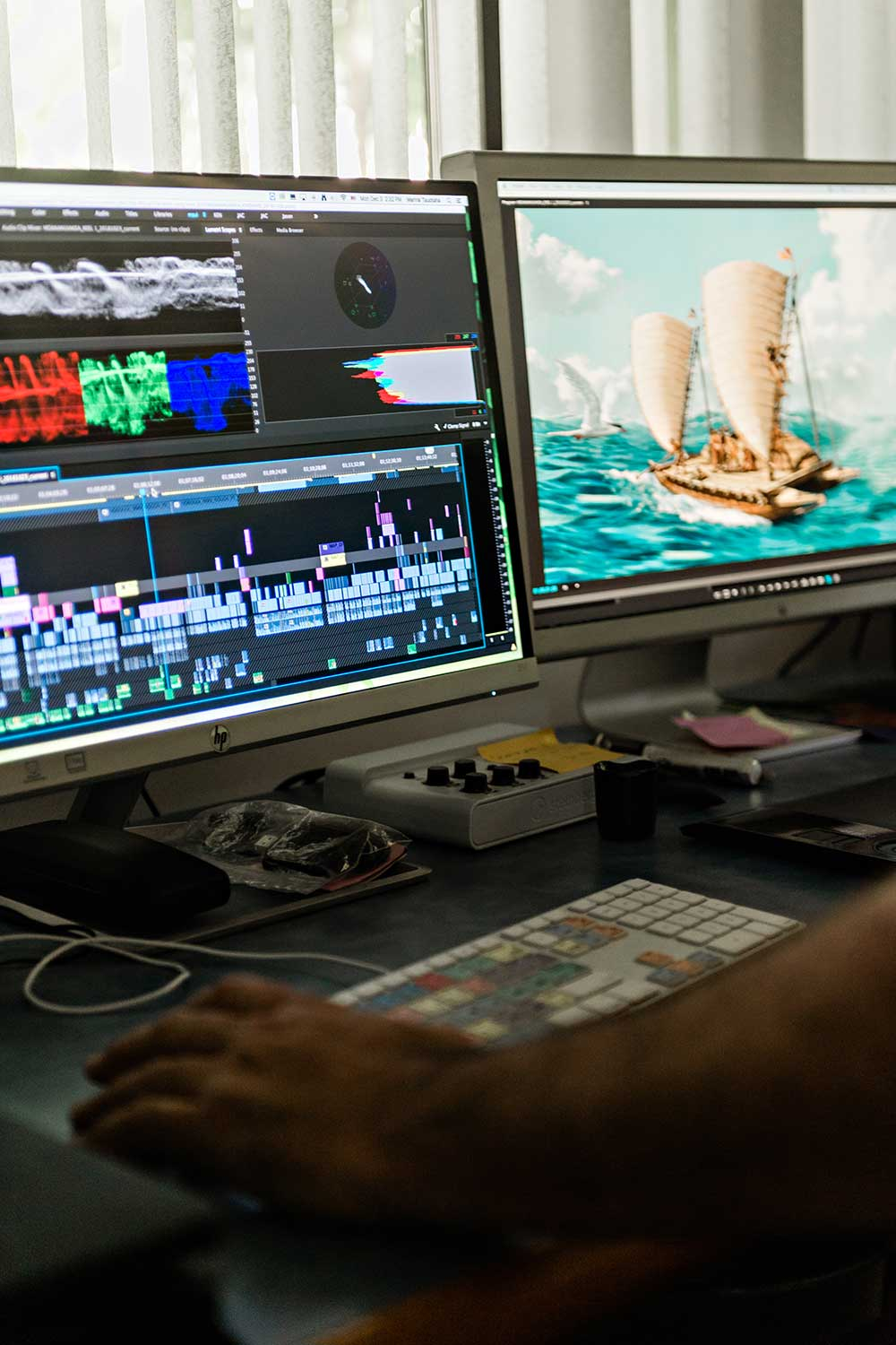Director Nā'ālehu Anthony dedicated at least three years to capturing the emotions and lessons that the sea offered to those aboard the canoe.