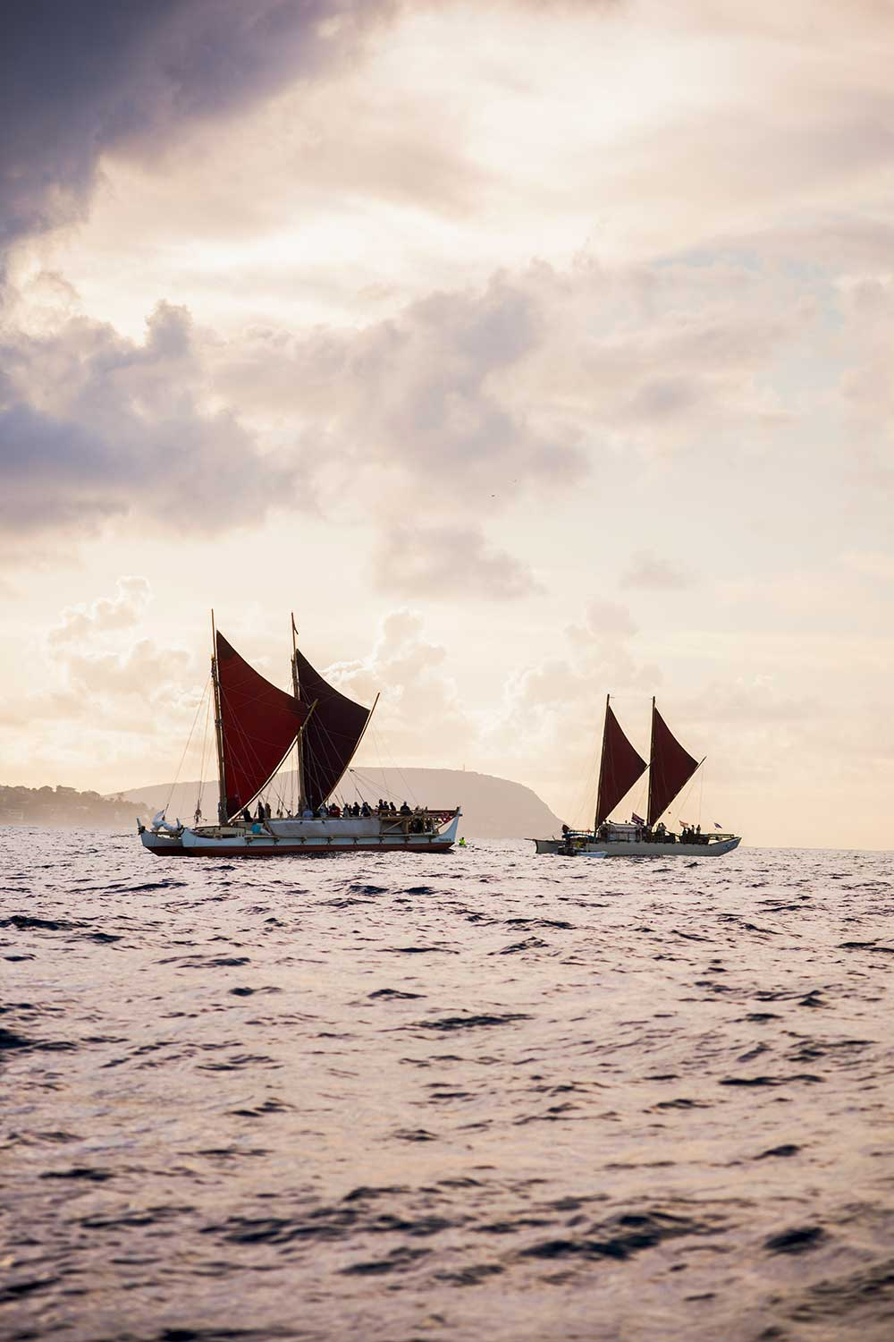 Through filmmaking, a rare documentative opportunity of the voyaging canoe Hōkūle'a arrives to the screen.