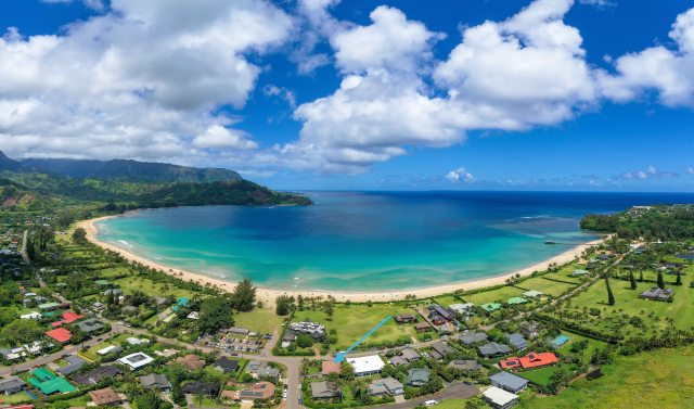 Hanalei Vacation Rental Hale Naninoa Location