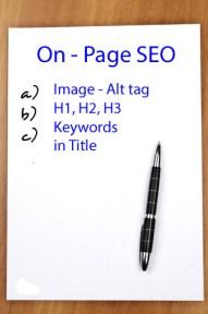 Blog Traffic - On Page SEO
