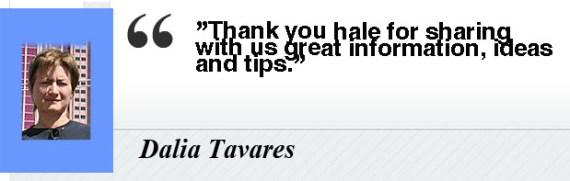 Dalia Tavares- Testimony