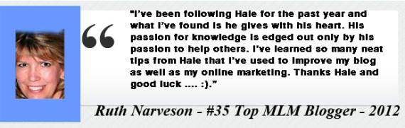 Ruth Narveson- Testimony