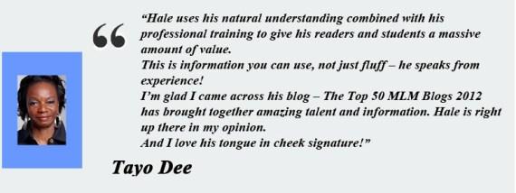Tayo Dee- Testimony