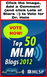 Vote for Dr. Hale (for Blog Traffic)