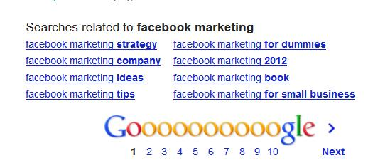 Facebook-Marketing-Related-Searches