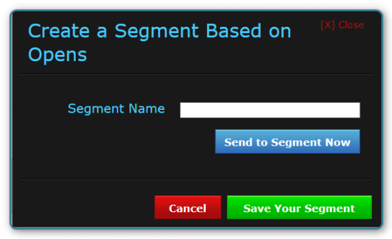 AWeber - Double broadcast email Open rate - Name Segment or Send Now