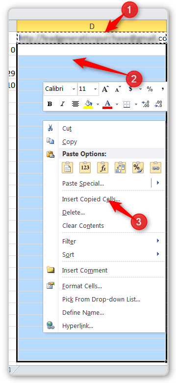 RTM and CRM  Copy Formula to Entire Column