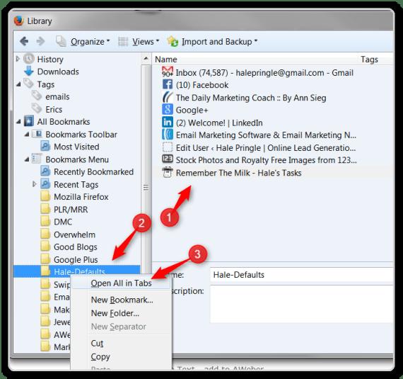 Firefox Tips - Resotre All Windows in Default Folder