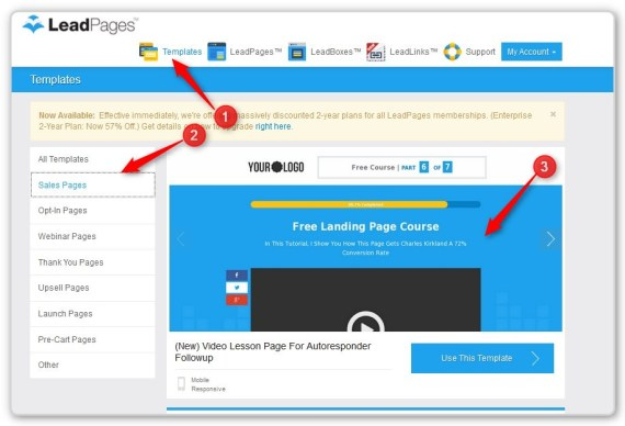 List Building With LeadPages -Opt-In Templates