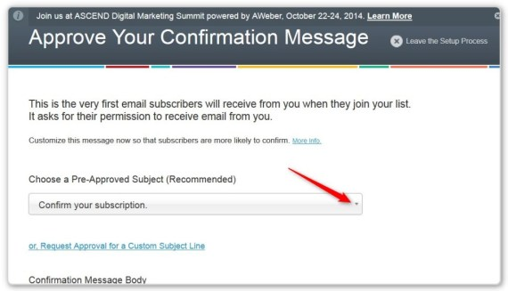 List Building Using LeadPages -  - Confirmation  Email