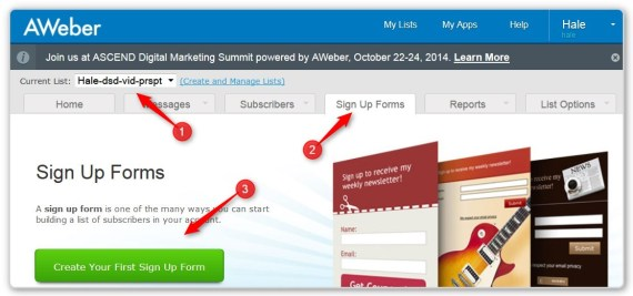 List Building Using LeadPages - Create a Sign Up Form