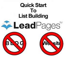 List Building Using LeadPages.net
