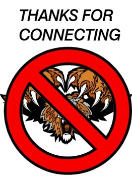 Do No Pounce in the Connection Thank You Page