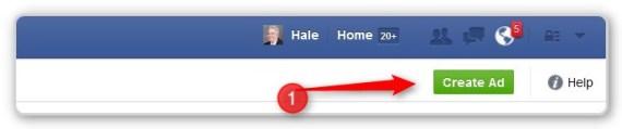 Facebook Custom Audience Create Ad