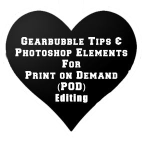 Photoshop Elements and POD