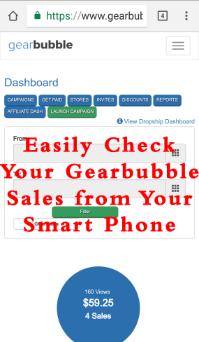 Gearbubble Daily Sales