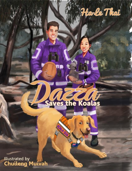 DAZZA SAVES THE KOALAS