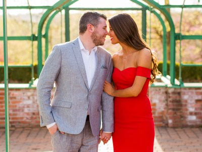 Laura + Andrew Queeny Park Engagement Session || St. Louis Wedding Photographer