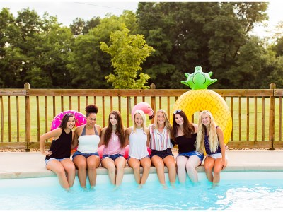 Class of 2020 Senior Spokesmodels Summer Bonding Day!