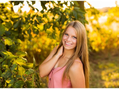 Emma Fall Countryside Senior Session || Southern Illinois Photographer