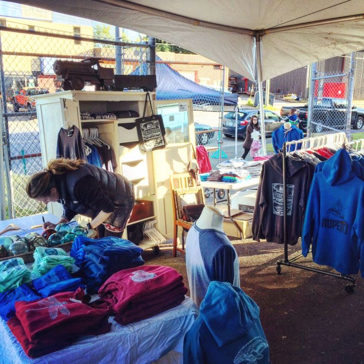 Haley Apparel at the Trading Coast Market