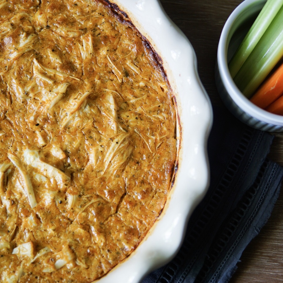 Whole30 Buffalo Chicken Dip (Only 5 Ingredients!) {Recipe Review}