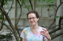 New McKinley Garden intern, Kate