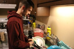Often, bad roommate situations can lead to doing other members of the household's dishes, as James knows all too well.
