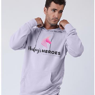 adult lavender hoodie