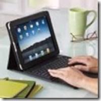 iPad accessory of the week: the Brookstone Bluetooth Keyboard Case