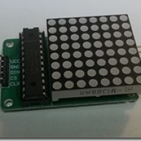 MAX7219 Dot Matrix LED Display: Assembling and usage