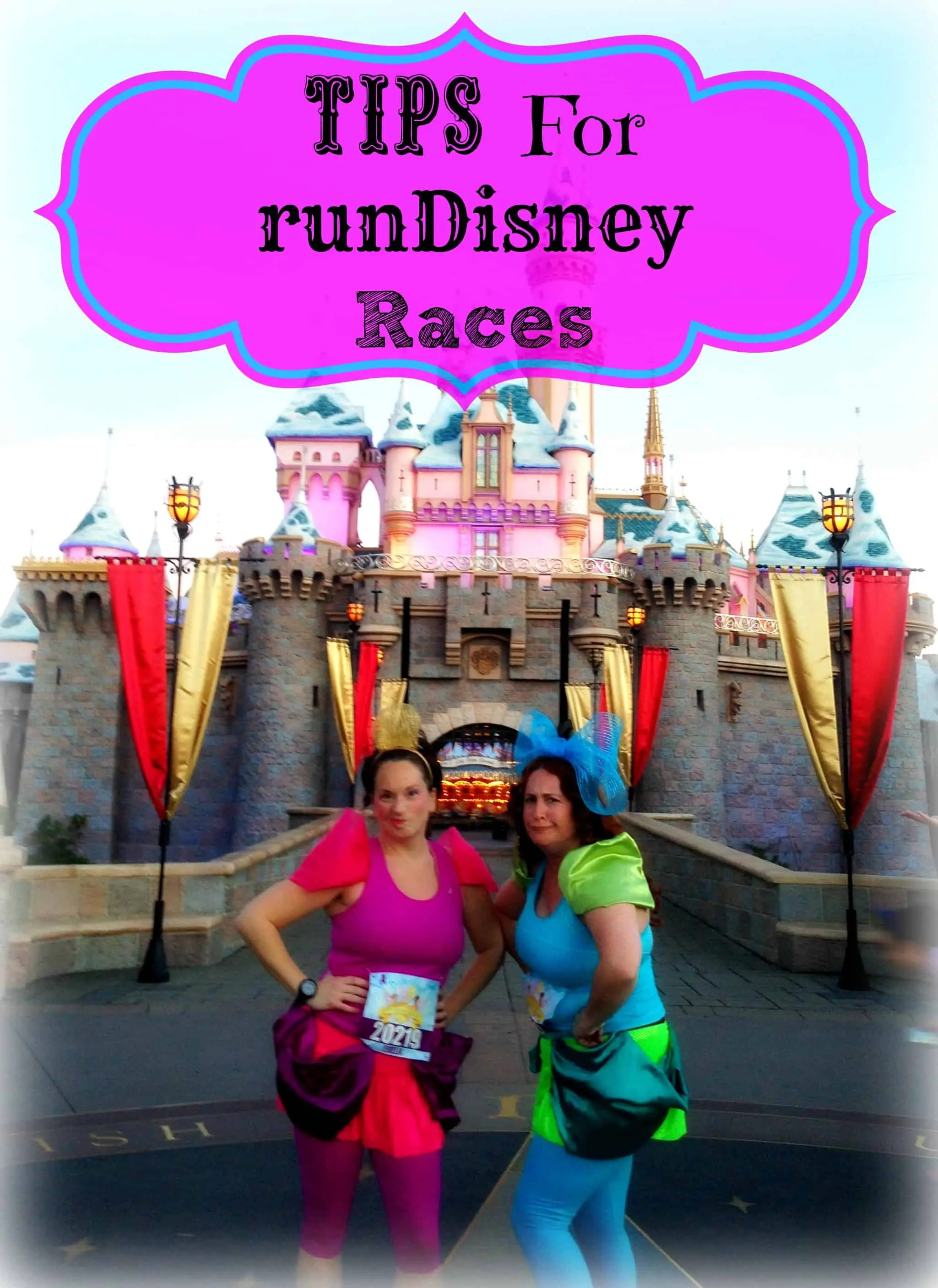 tips for runDisney races