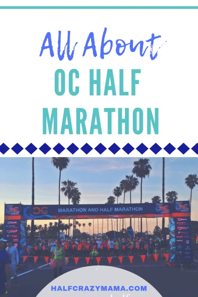 OC Half Marathon Race Info | all about the marathon | orange county | southern california | running | training | course | medal