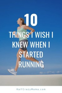 wish I knew when I started running
