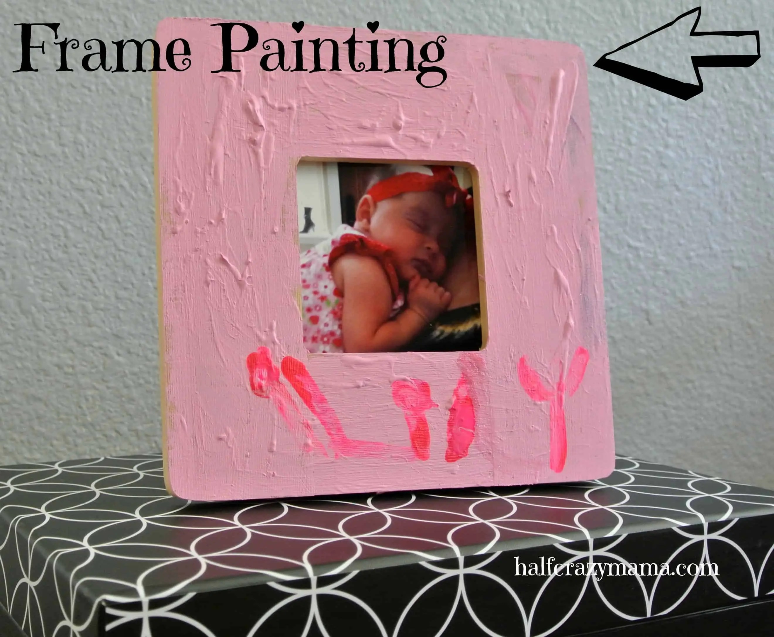 fathers day frame painting