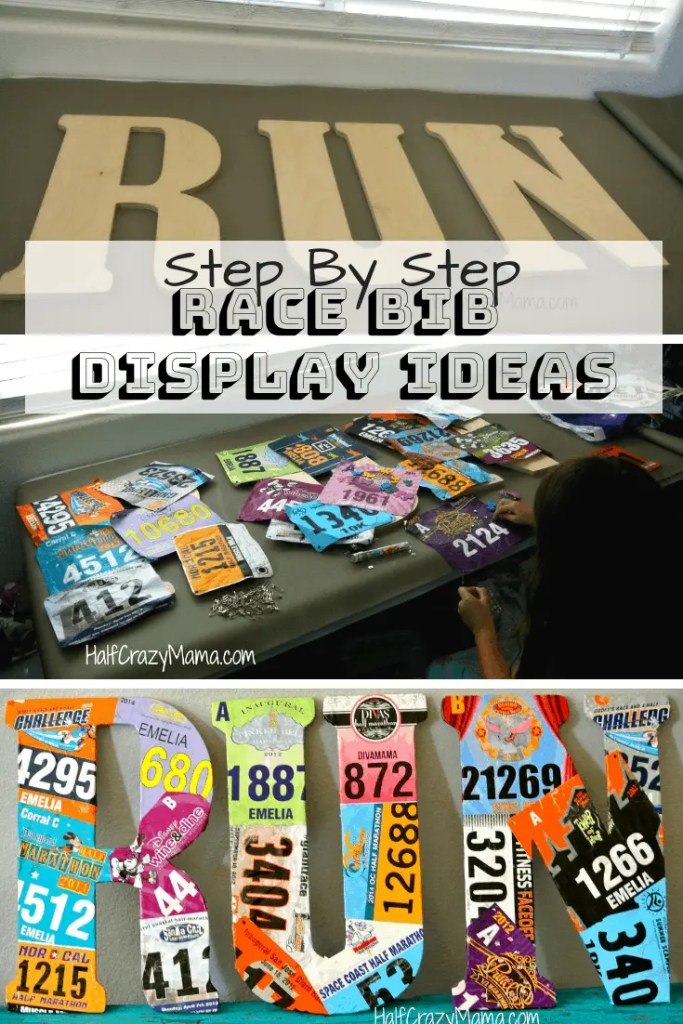 How to make DIY Race Bib Display Ideas | Race Bib Display| DIY Race Bib Craft| Race Bib Ideas |Race Bib Holder| What to do with race bibs| #runners #marathontraining