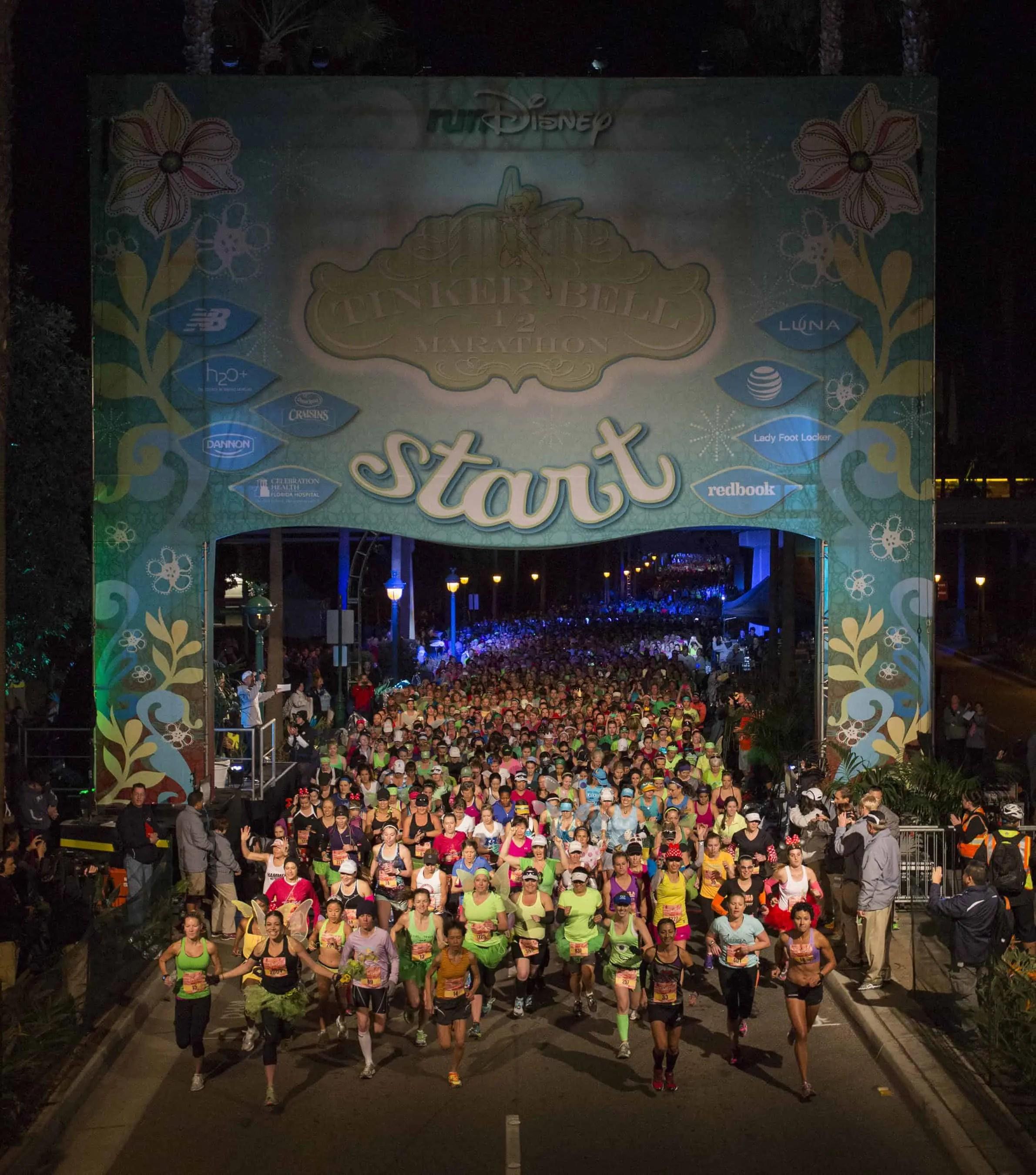 2014 Tinker Bell Half Marathon Start Line