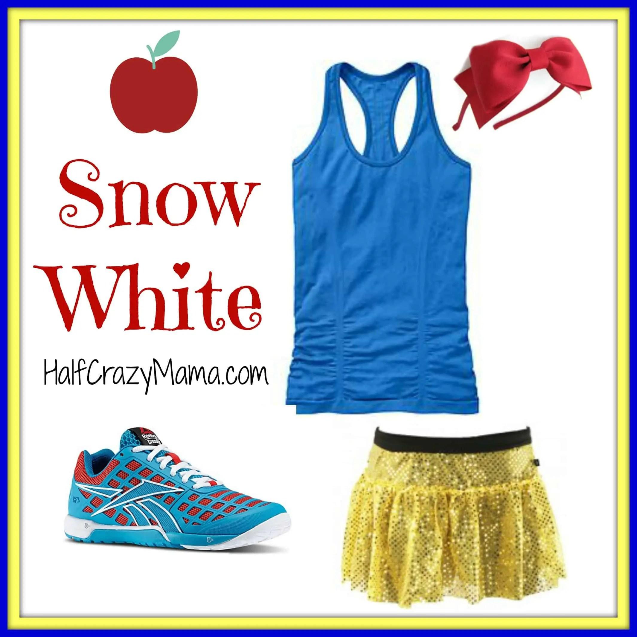 Easy Disney Princess Running Costume Ideas- Part 1 • Half