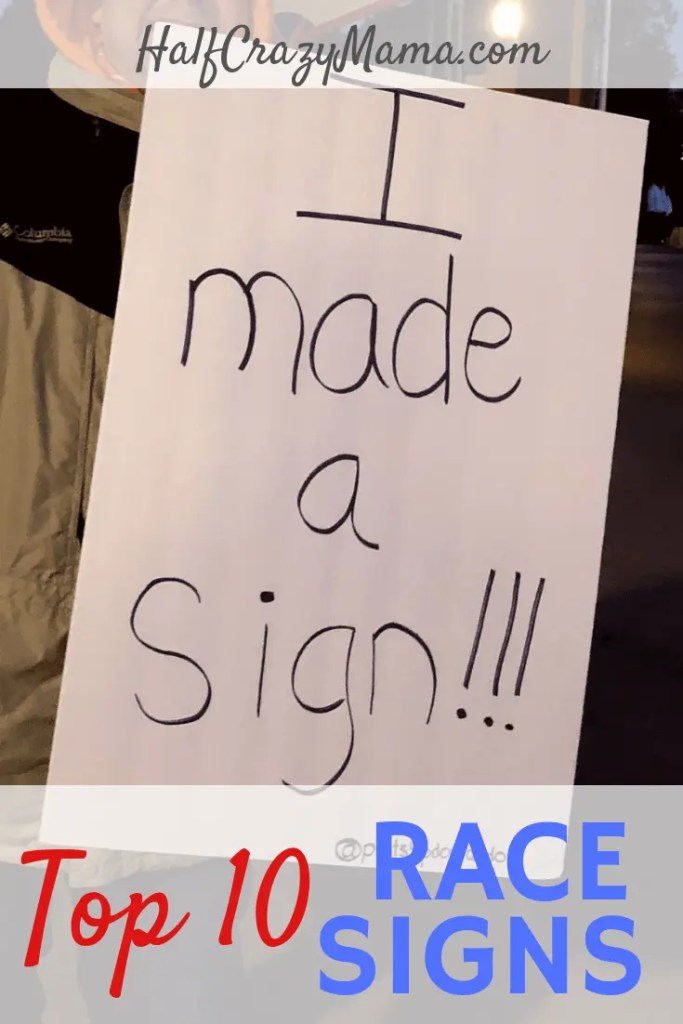 top 10 race signs