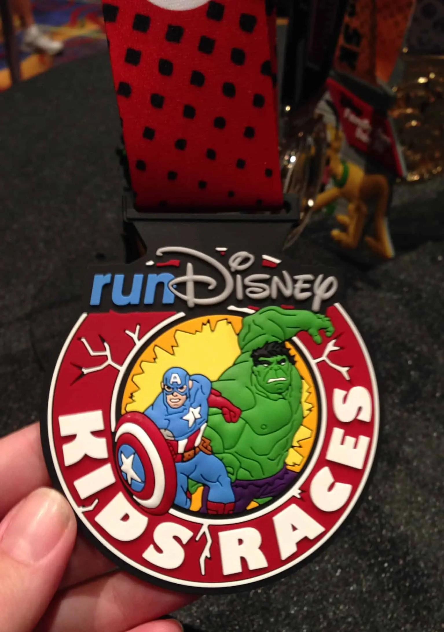 Avengers Weekend Kids Races Medal