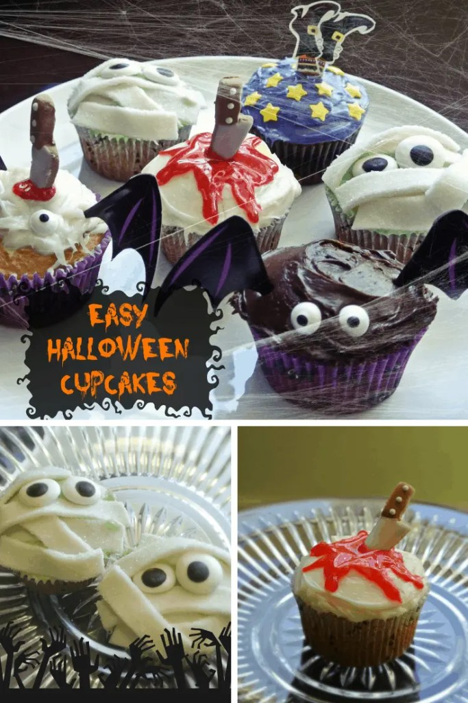 Halloween Cupcake Ideas that are fun, easy, and cute. | scary cupcakes | halloween cupcake ideas | Halloween Cupcake Ideas for Kids | Spooky Cupcake | Halloween Cupcake Decorations #HalloweenCupcakes #halloweendesserts