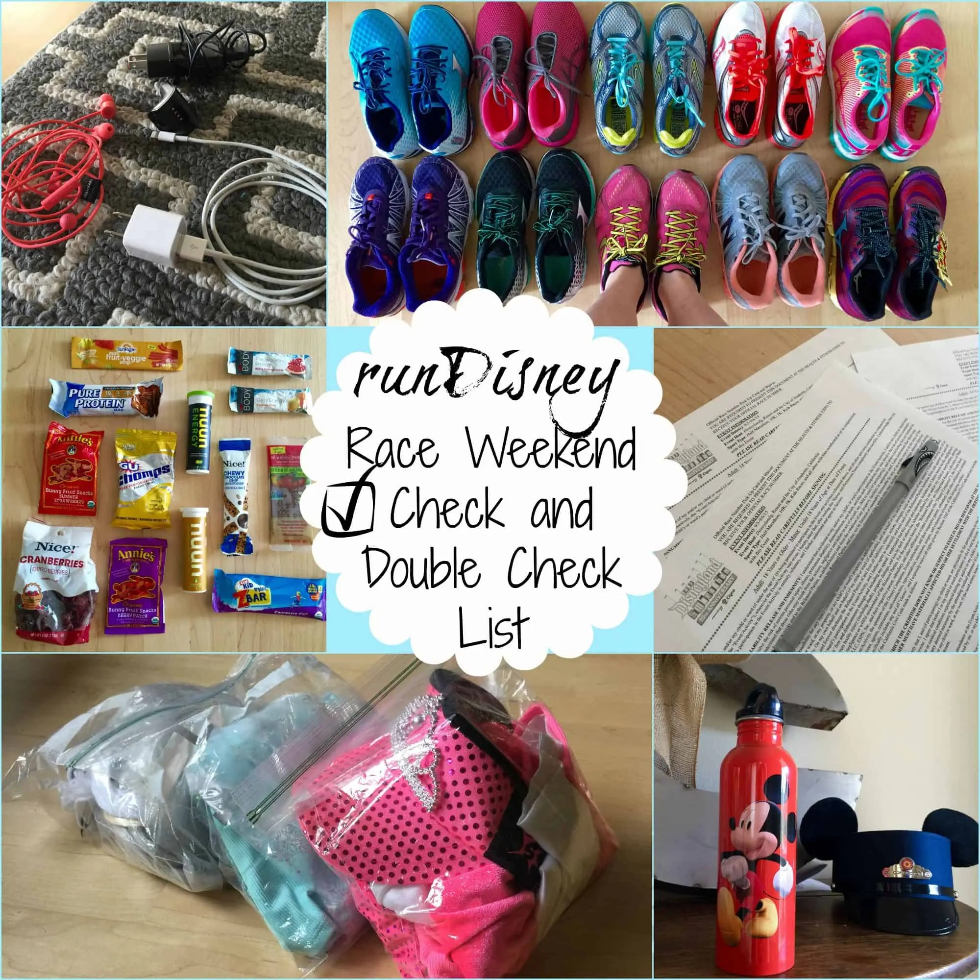 rundisney_check_list